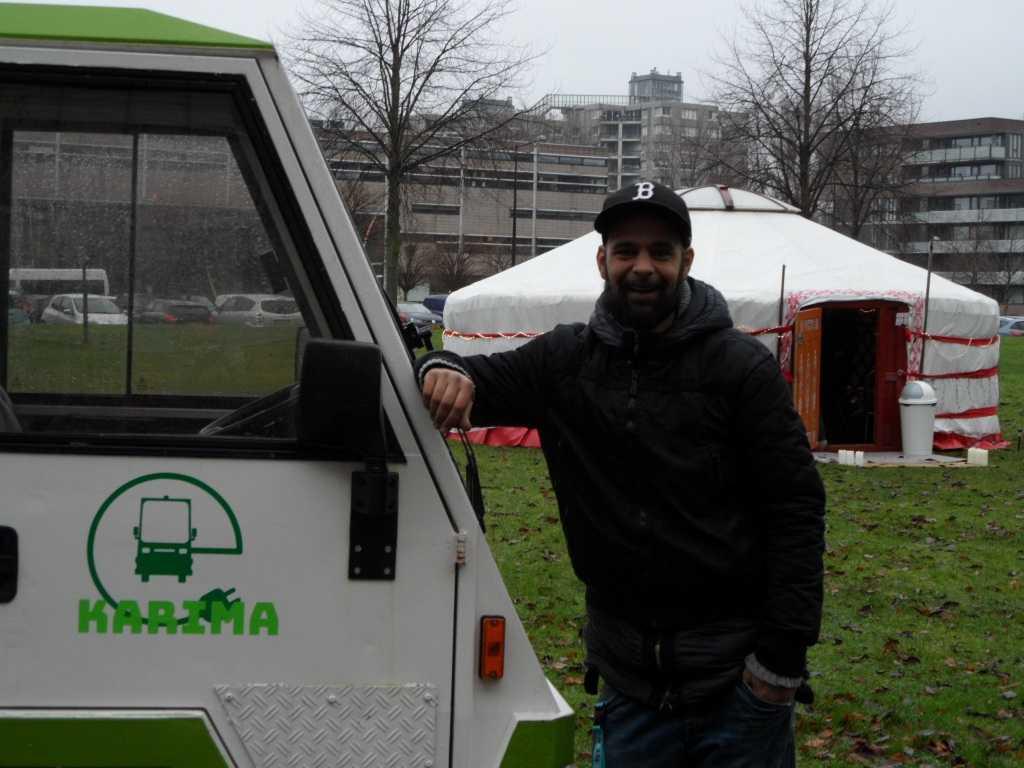 Mobiel Arts Projects leverde met KARIMA op zondag de energie voor het festival
